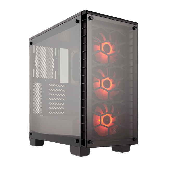 Crystal Series™ 460X RGB Compact ATX Mid-Tower Case