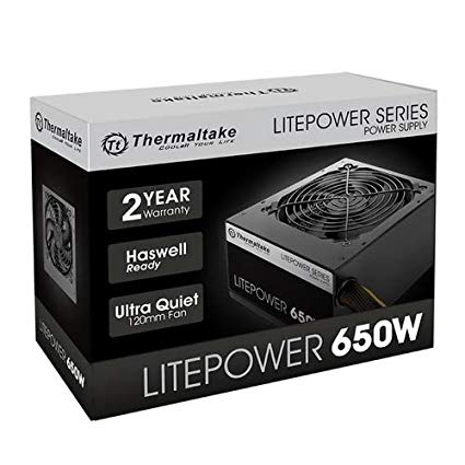 thermaltake 650w power supply