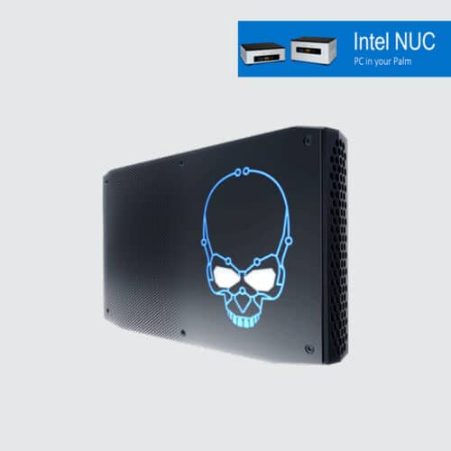 Intel NUC8I7HVK i7-8809G 8GB 512GB NVMe Windows 10 Pro