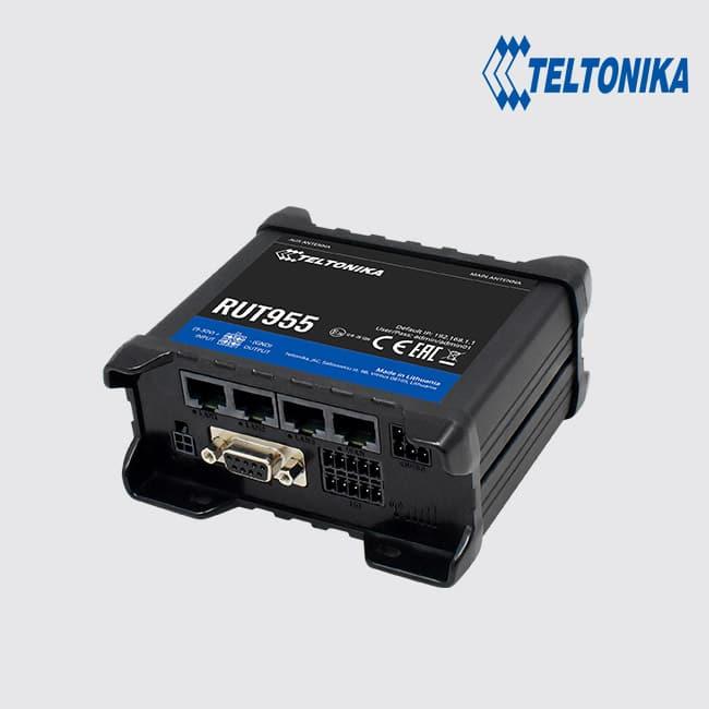 Teltonika RUT955 Industrial 4G/LTE & WiFi Dual SIM Router